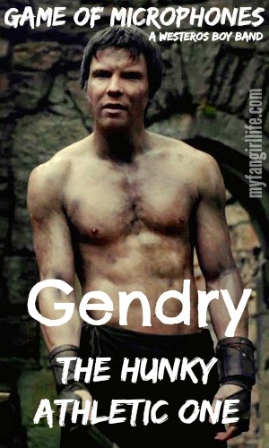 Game of Thrones Boy Band Gendry