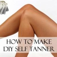 How to Make DIY Self-Tanner