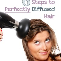 6 Steps to Perfectly Diffused Hair