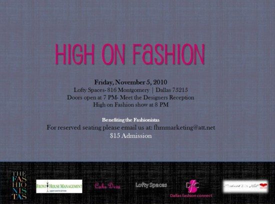HighOnFashion High on Fashion: Urban Couture Fashion Show