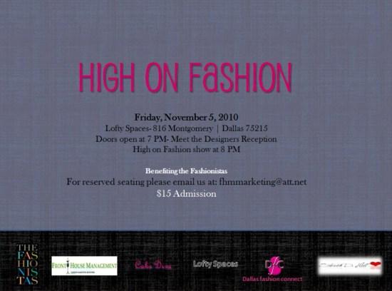 HighOnFashion High on Fashion: Urban Couture Fashion Show