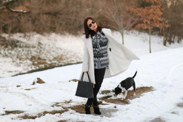 Winter White Coat8 Winter White Coat from Jessica Simpson