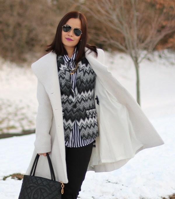 Winter White Coat9 Winter White Coat from Jessica Simpson