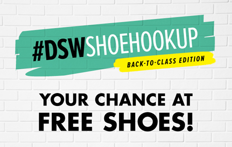 Back to class dswshoehookup Back to Class with DSW