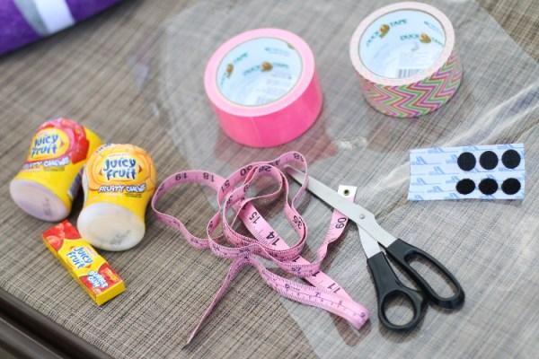 Juicy Fruit Fun Side DIY Summer Clutch shop2 DIY Summer Clutch and Pool Essentials with Juicy Fruit