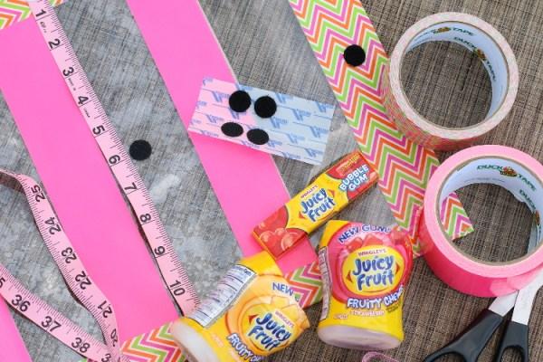 Juicy Fruit Fun Side DIY Summer Clutch shop6 DIY Summer Clutch and Pool Essentials with Juicy Fruit