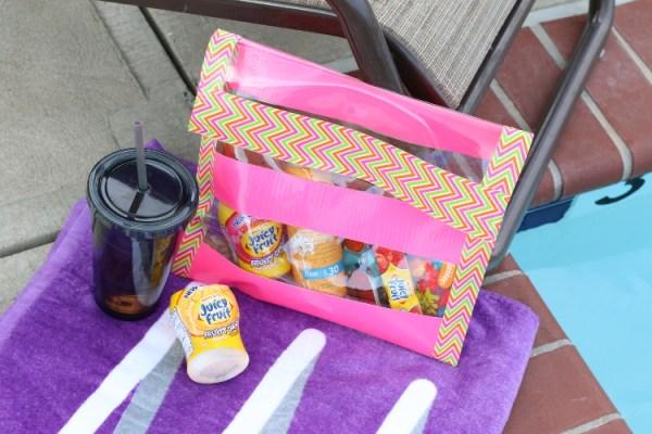 Juicy Fruit Fun Side DIY Summer Clutch shop7 DIY Summer Clutch and Pool Essentials with Juicy Fruit