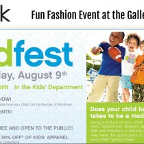 Belk Kid Fest and Model Search, Galleria Dallas, DFW, Texas, North Texas, events, fashion, food, fun
