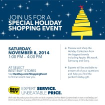Best Buy Holiday Shopping event, technology, gadgets, tech, gifts, shopping