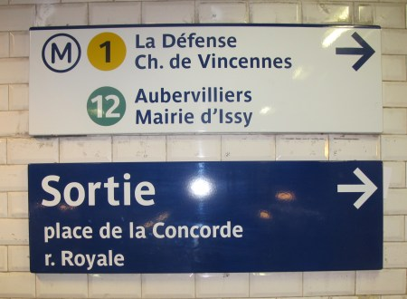 A quick guide to using the Paris Metro