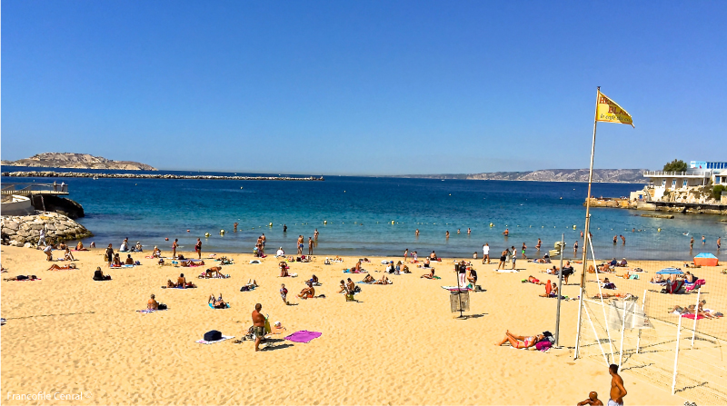 Les Catalans - A Beach in Downtown Marseille