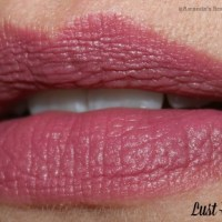 Maybelline Creamy Matte Lipstick: Touch Of Spice and Lust For Blush