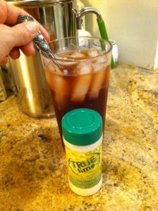 True Lemon with Iced Tea