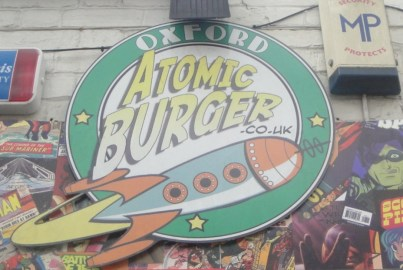 Atomic Burger Sign
