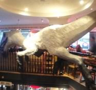 Plastic Dinosaur jamie olivers diner