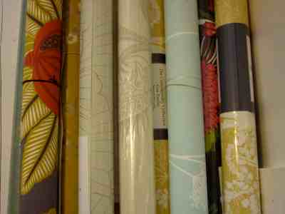 Fabric Wallpaper: Wallpaper Rolls