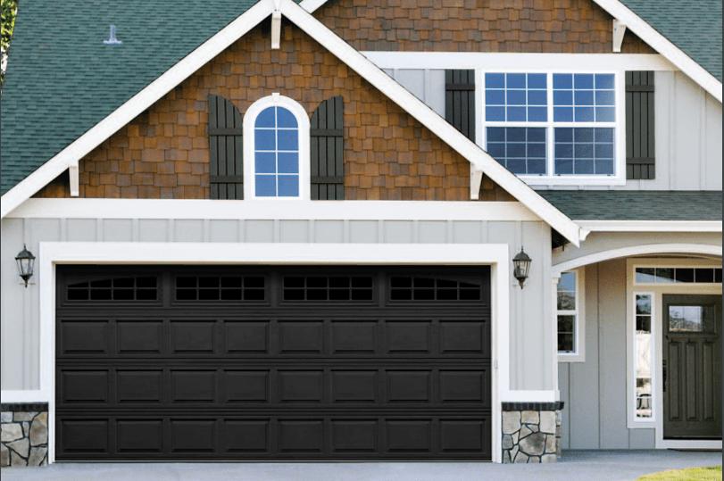 Jolicoeur Overhead Doors The Hampshire Garage Door In Black