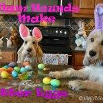 DIY Glitter Easter Eggs Mess