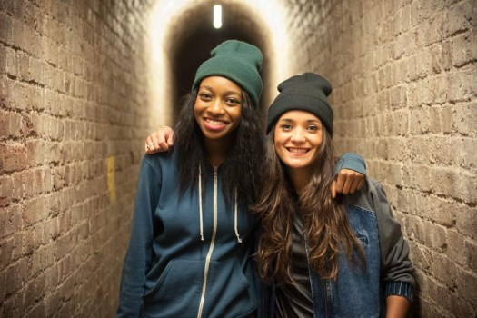 Little Simz and Ria Ritchie at The Roundhouse