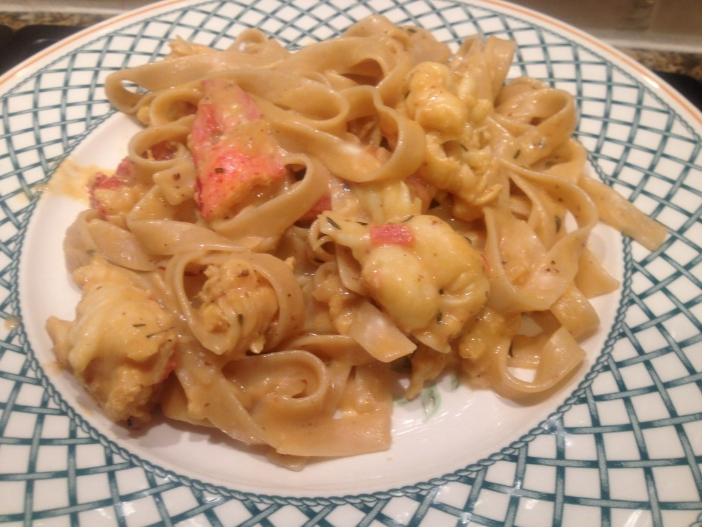 Creamy Lobster Tagiatelle