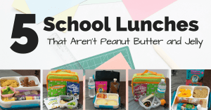 gluten free school lunches