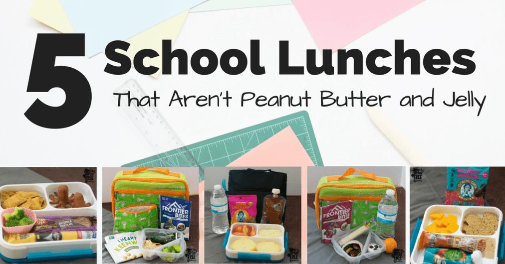 gluten free school lunch