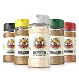 #1 Best-Selling 5oz. Flavor God Seasonings (5 Bottle Ranch Combo Pack)