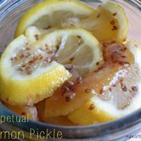 Perpetual Pickle (How to Use Leftover Lemons)