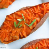 Thai Spiced Sweet Potatoes + Cavegirl Cuisine Cookbook Giveaway