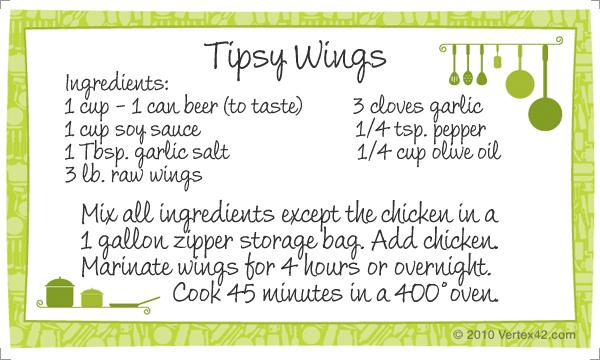 Tipsy Wings