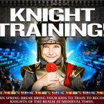 Knight Training at Medieval Times (with a giveaway!)