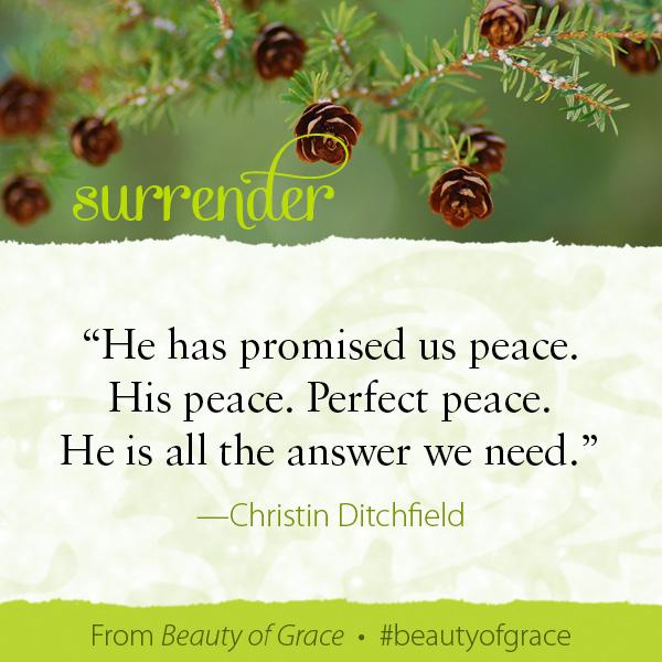 Christen Ditchfield The Beauty of Grace #beautyofgrace