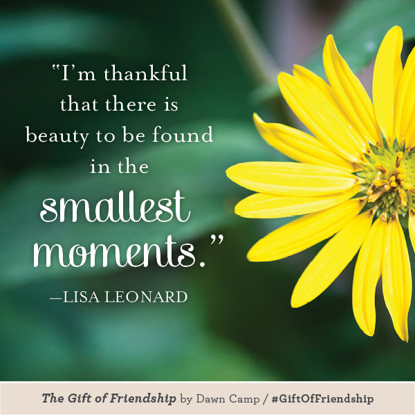 Lisa Leonard The Gift of Friendship #GiftofFriendship