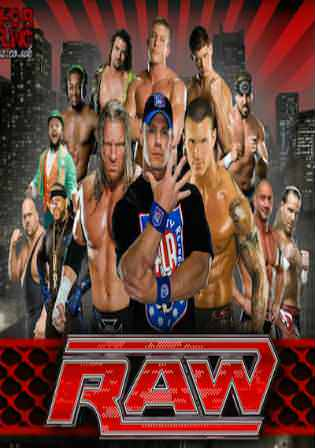 WWE Monday Night Raw HDTV 480p 550MB 11 June 2018 Watch Online Free Download Worldfree4u 9xmovies