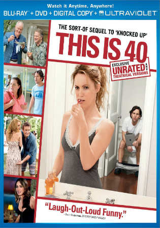This Is 40 2012 BluRay 750MB UNRATED Hindi Dual Audio 720p Watch Online Full Movie Download Worldfree4u 9xmovies