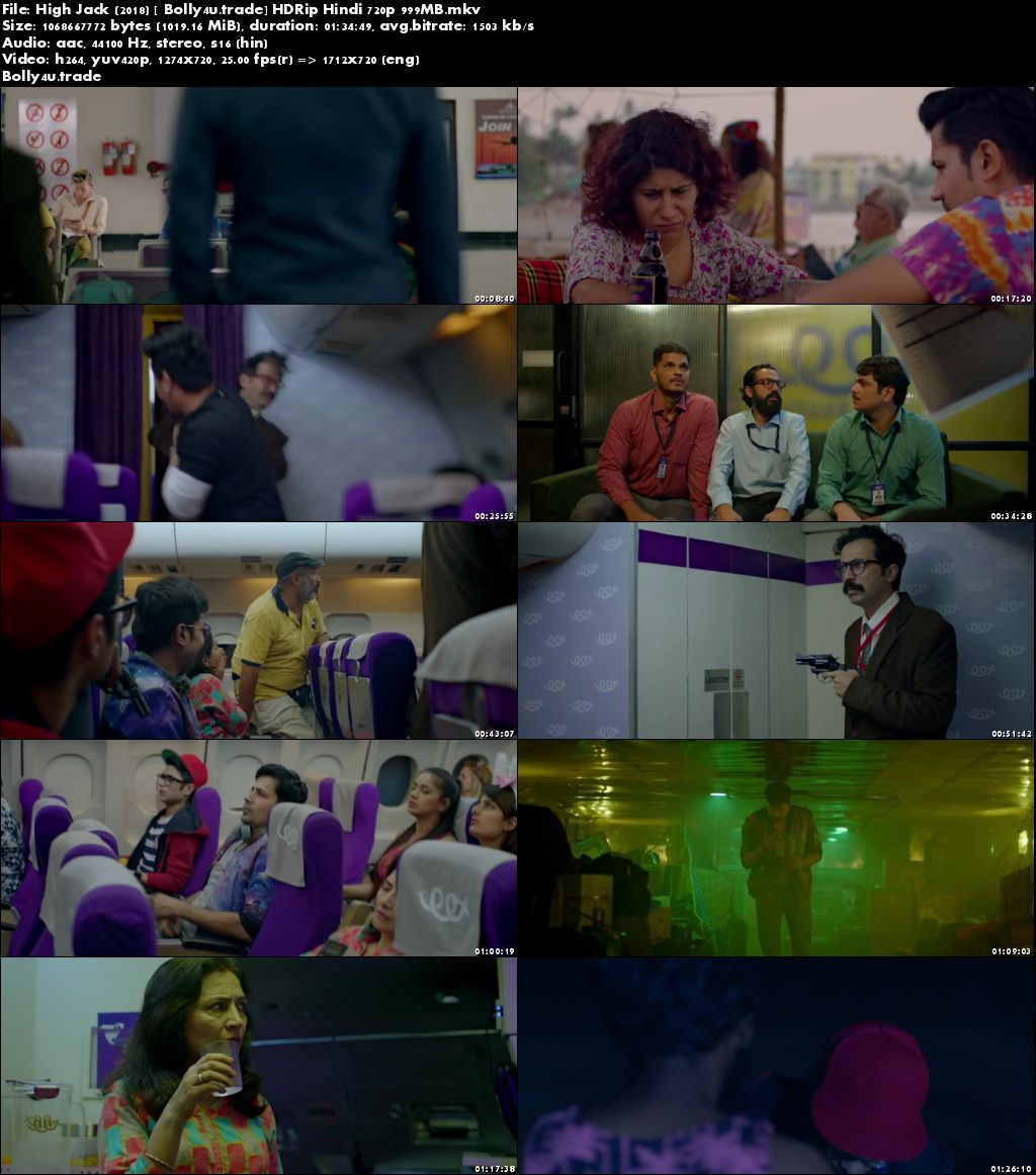 High Jack 2018 HDRip 300Mb Full Hindi Movie Download 480p