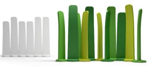 VERDE design Gradient è il separatore modulare di ambienti progettato dallo studio spagnolo MUT Design e realizzato dall'italiana Plustcollection
