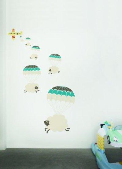 .amazon Luckies of London - Adesivo da Parete Motivo con pecorelle 3D, 1 Pezzo 34.74