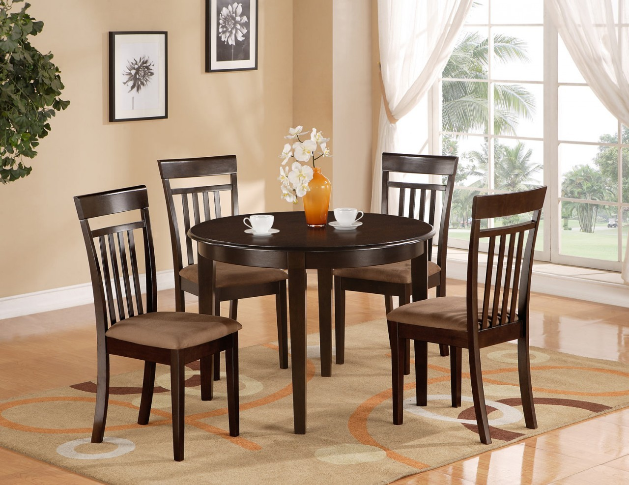 kitchen dining sets comfortable kitchen chairs Kitchen dining sets Photo 4