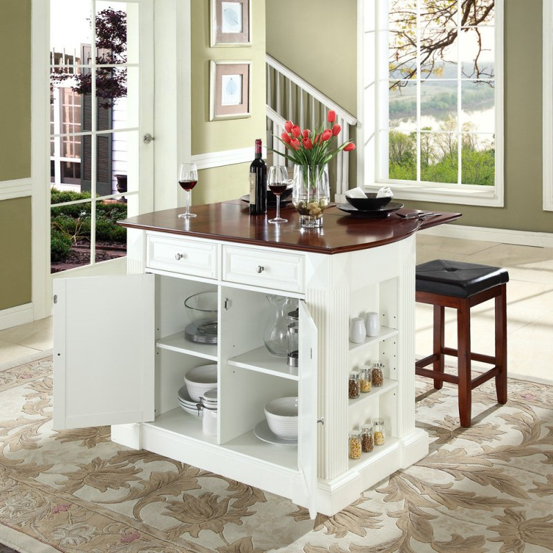 Large Of Simple Kitchen Island With Seating