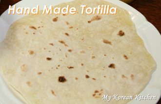 Hand made tortilla