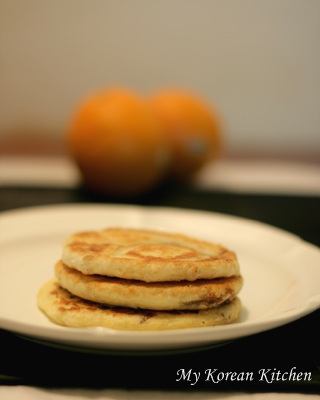 Korean Sweet Pancakes (Hoddeok) - Fully Home Made Version 1