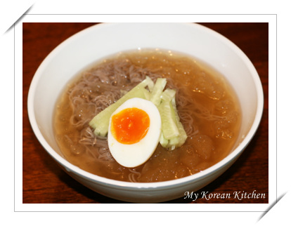Review - Instant Cold Noodles in Water (Mul Naengmyun)2