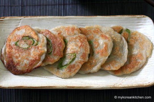 korean Potato Pancakes (Gamja Jeon) 2