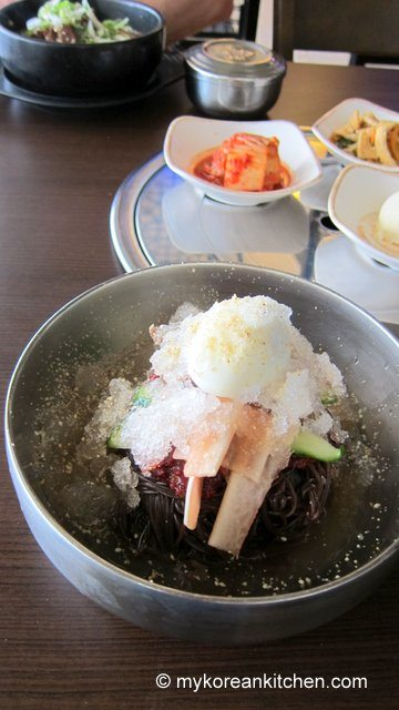 Bibim Naengmyeon and Galbijjim