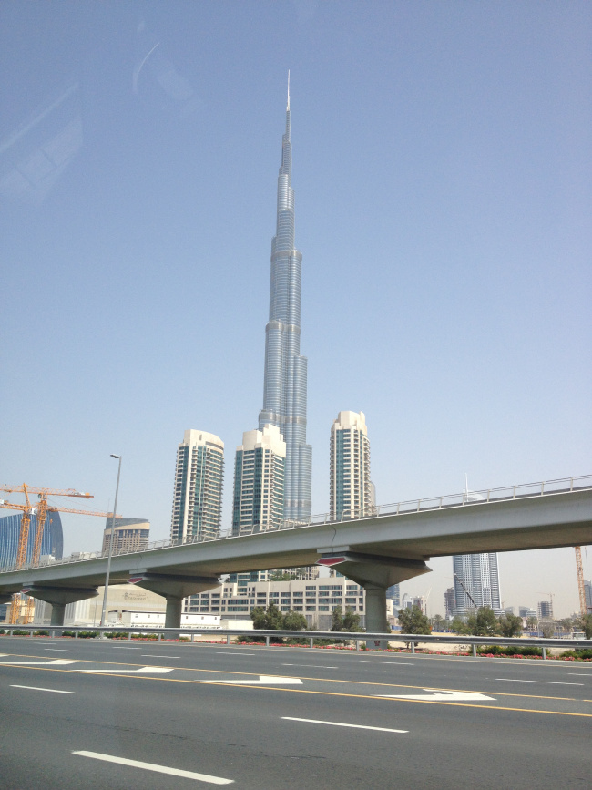 Το Burj Khalifa, το ψηλότερο κτίριο στον κόσμο!