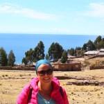Ich auf der Isla Taquile, Titicacasee