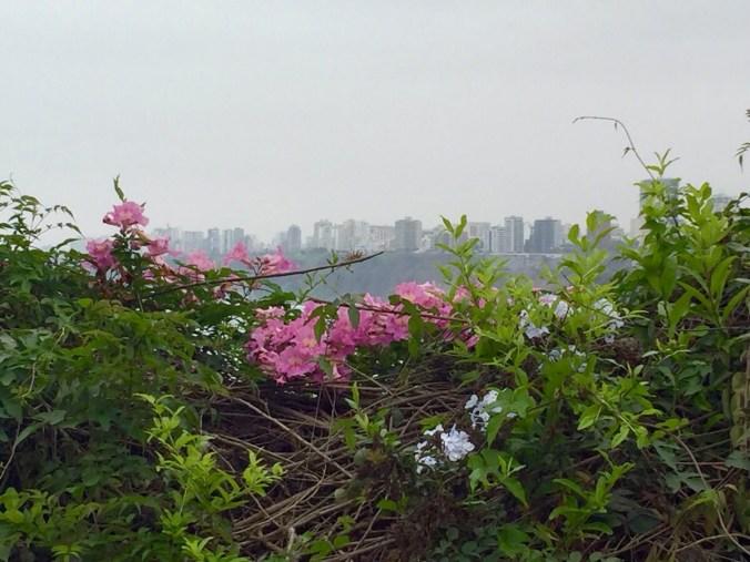 Limas Küste von Barranco aus gesehen