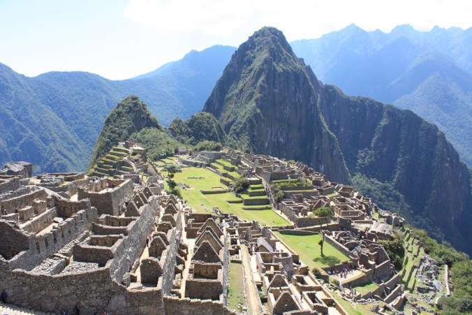 Machu Picchu am frühen Morgen