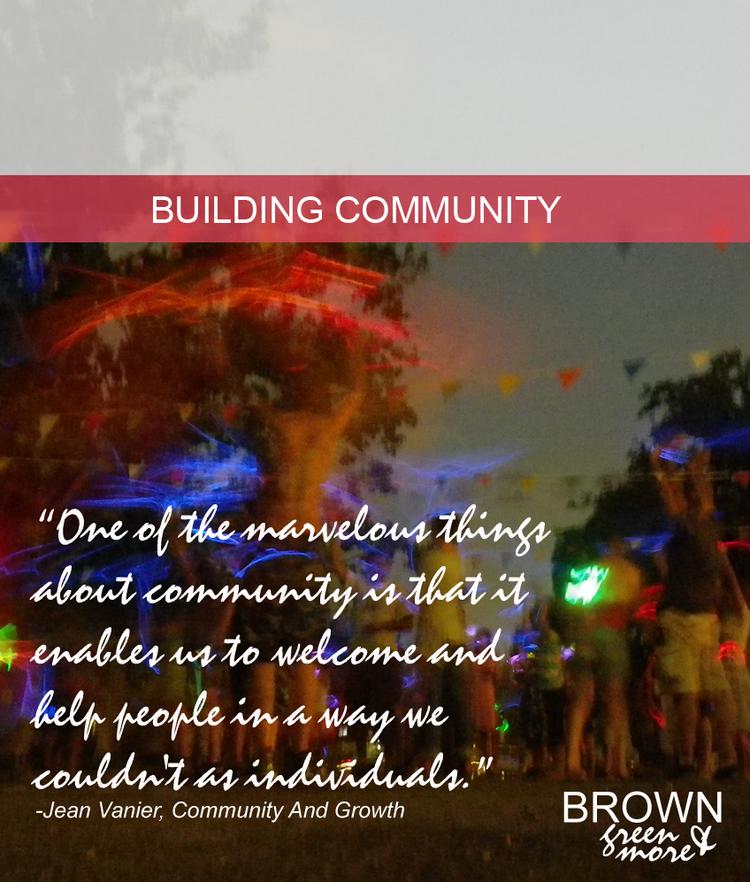 Browngreenmorebuildingcommunity